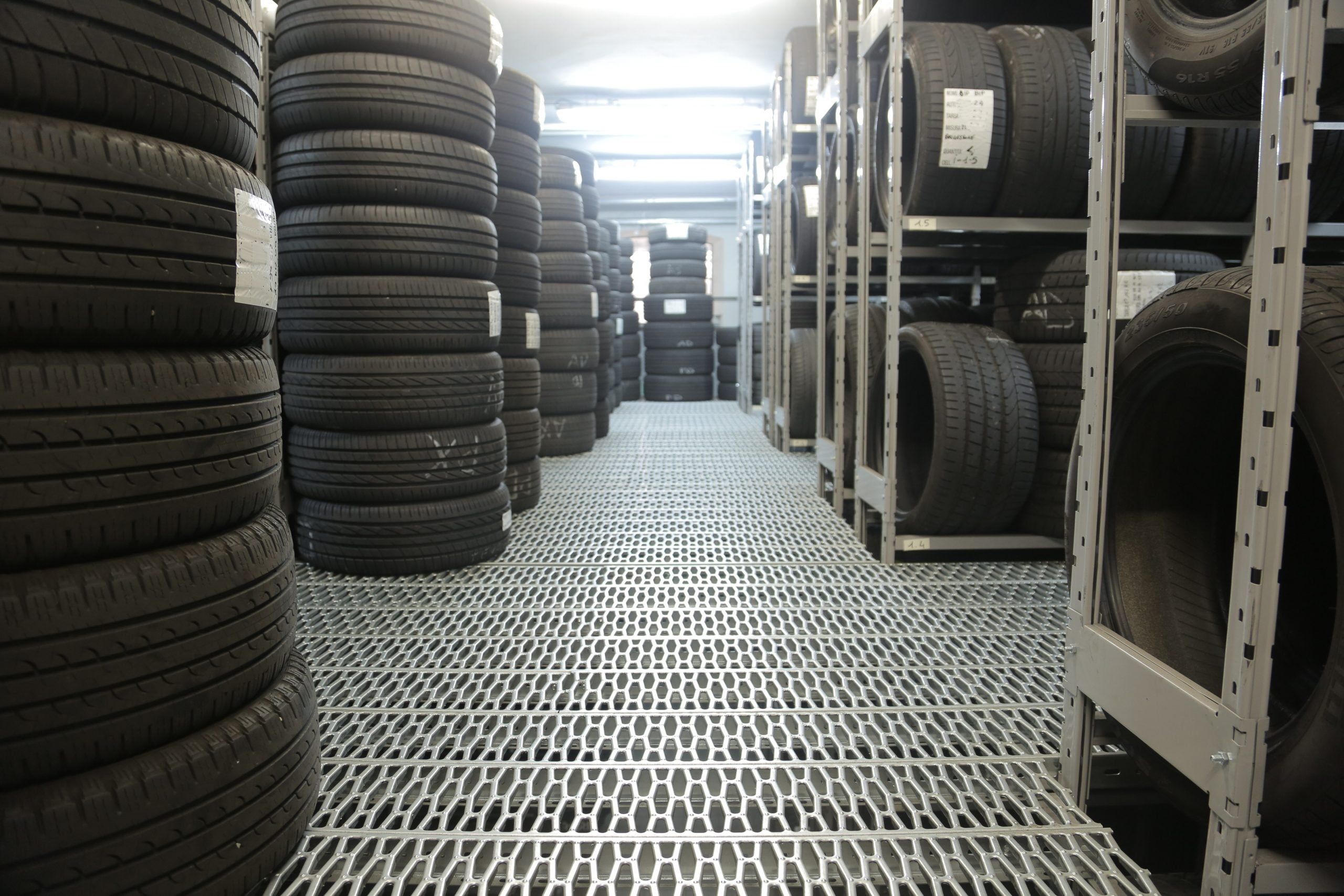 How to Store Tires